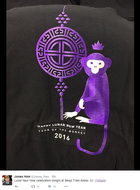 The Sacramento Kings - Lunar New Year T Shirts