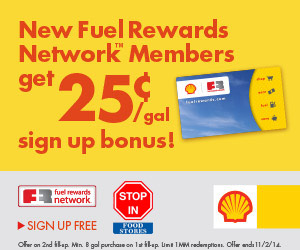 Fuel Rewards with the Fuel Rewards Network- Earn Cheaper Gas