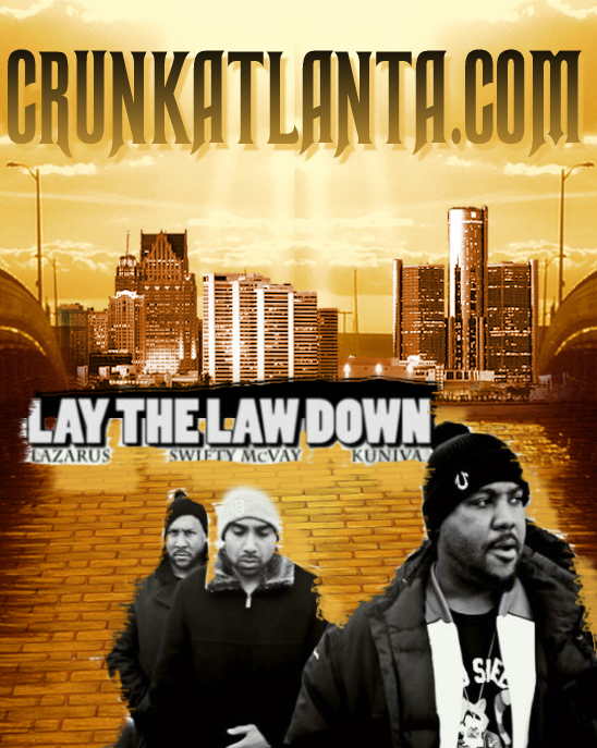 "Lazarus and D12 – ""Lay the Law Down"""