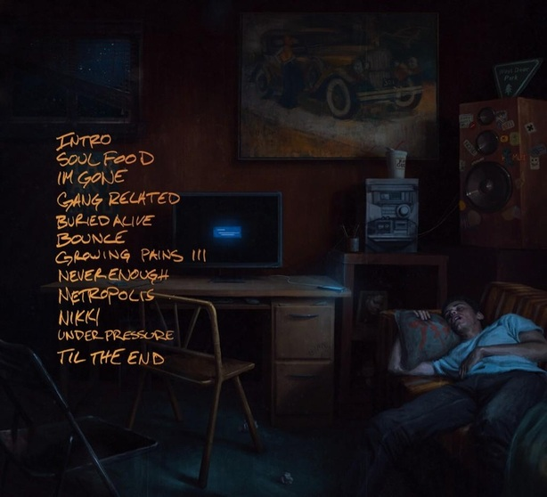 UNDER PRESSURE Tracklist by LOGIC - DEF JAM