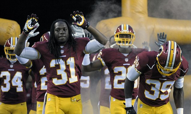 Washington Redskins Show Support for Ferguson's Michael Brown