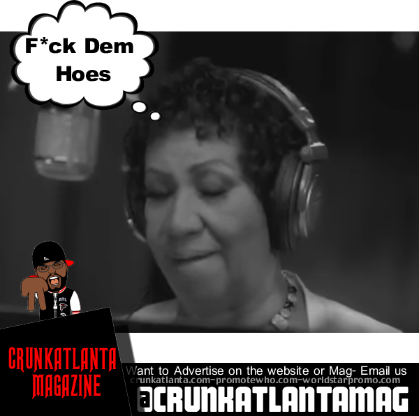Aretha Franklin Disses Nicki and Remy Ma