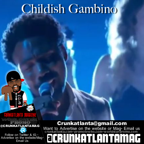 Childish Gambino Terrified 2018 60th Grammy Awards Performance