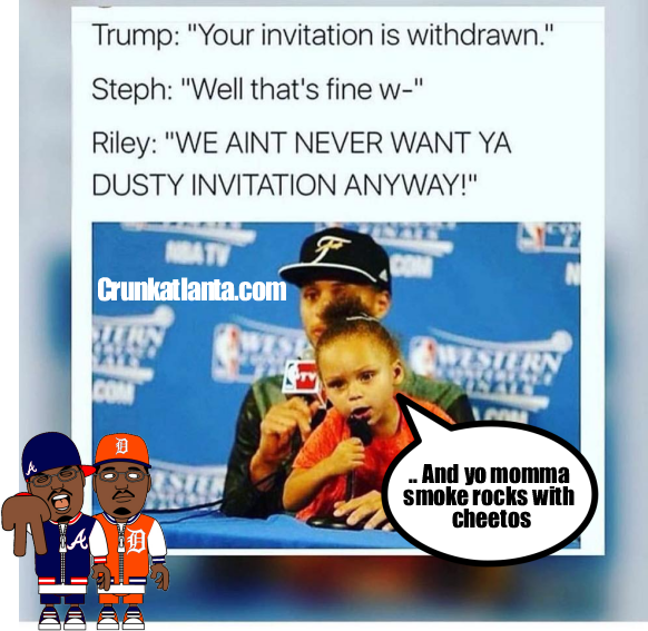 That Trump Invitation -- Take Back is Funny