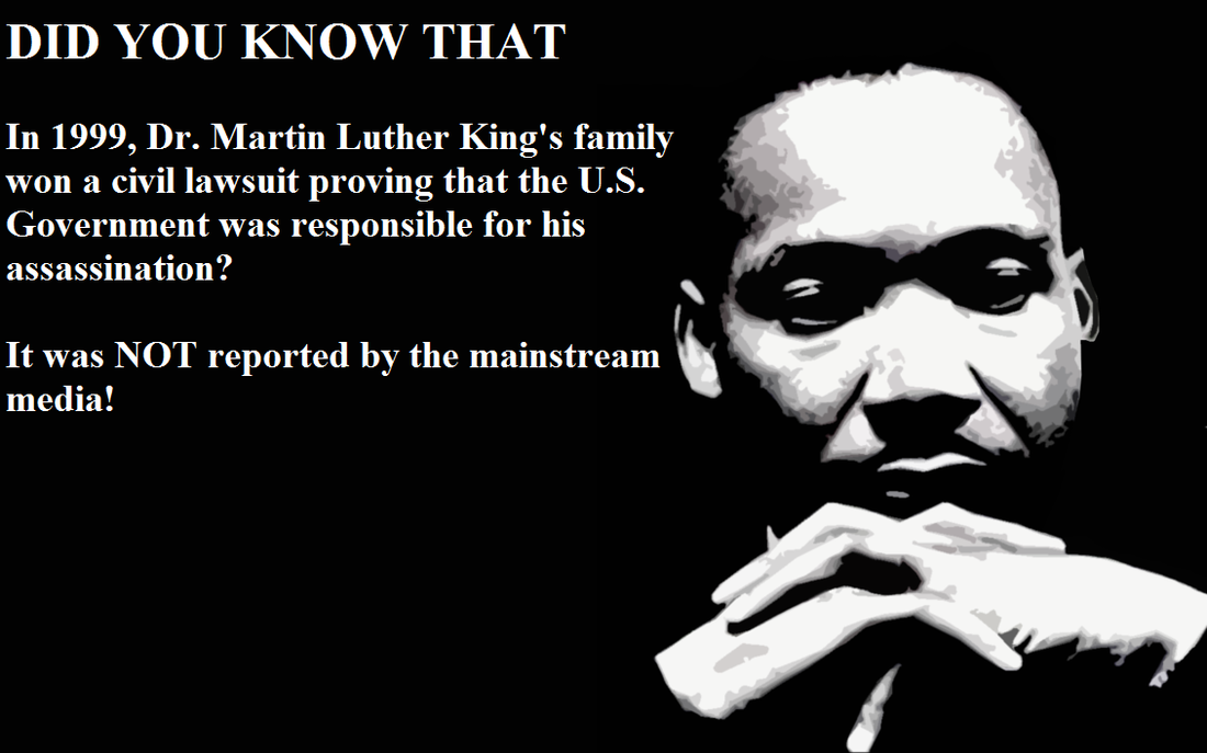 US Government Was Found Guilty of MLK Murder in 1999