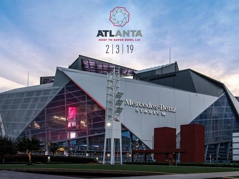 SUPER BOWL LIII FEBRUARY 3, 2019 • MERCEDES-BENZ STADIUM • ATLANTA, GA