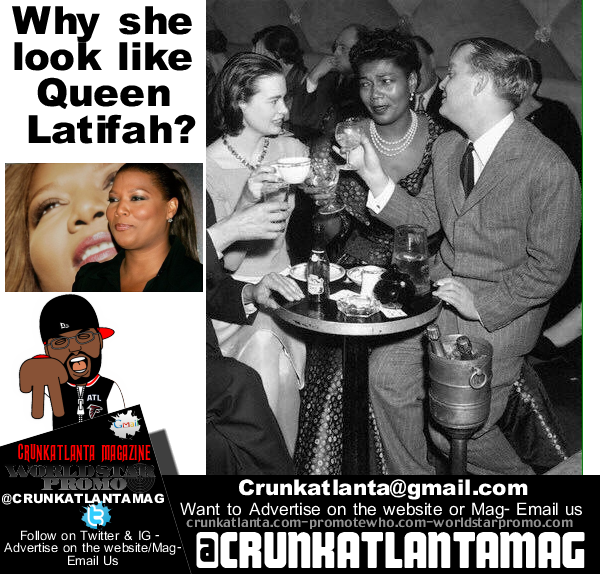 Queen Latifah Look like  Pearl Bailey of the 50's