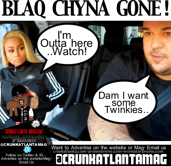 Did Blac Chyna Dip with Baby Dream from Rob Kardashian?