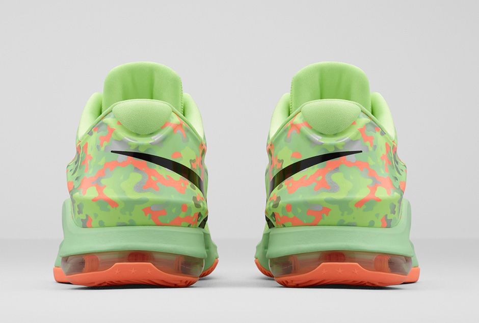 KD7 Liquid Lime/Vapor Green/Sunset Glow/Black