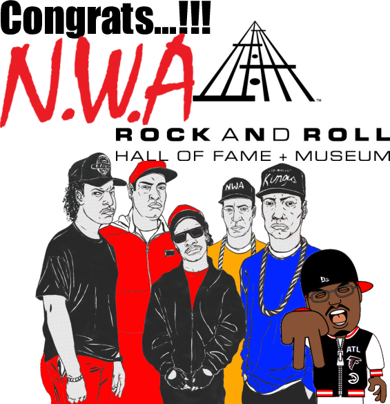 NWA to be Inducted into the Rock and Roll Hall of Fame - CONGRATS