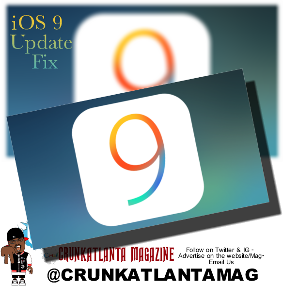 iOS 9 Update issue - Easy Fix