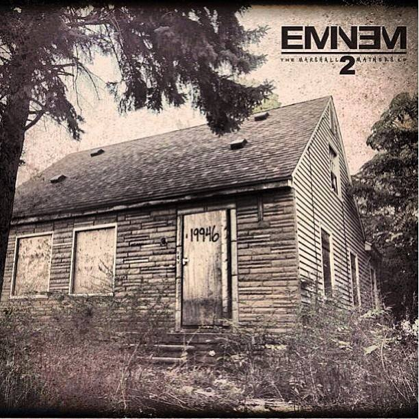 Eminem's  The Marshall Mathers LP 2 Goes Platinum