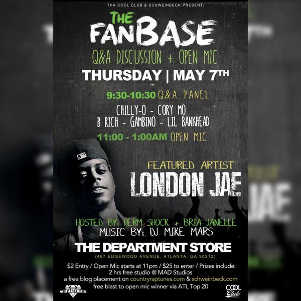 The Cool Club & Schweinbeck Present: The Fanbase at the Department Store