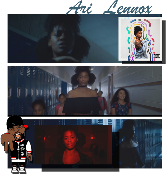 "ARI LENNOX'S NEW VIDEO ""NIGHT DRIVE"""